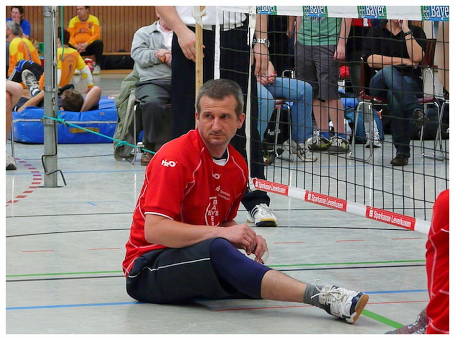 Sitting volleyball: It's fast, it demands a high level of fitness and ball handling skills, and it can be played in mixed disabled/non-disabled teams.