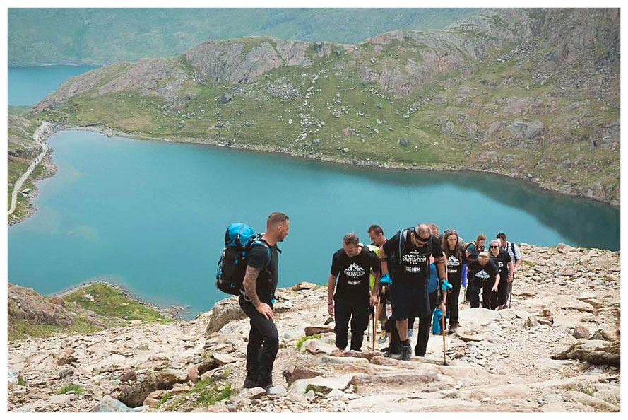 Steel Bones' Mt. Snowdon Challenge to raise additional funds for the organisation's work (picture courtesyof Steel Bones UK)