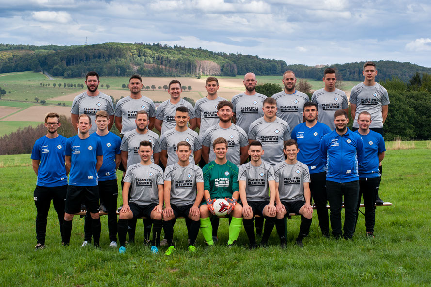 Mannschaftsfoto Zweite Mannschaft SG Alpenrod/Lochum/Nistertal/Unnau - Saison 2019/2020