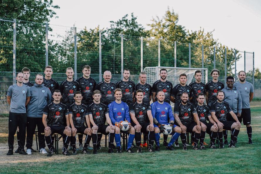 Mannschaftsfoto Zweite Mannschaft SG Alpenrod/Lochum/Nistertal/Unnau - Saison 2020/2021