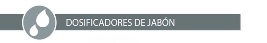 DOSIFICADORES DE JABÓN JOFEL