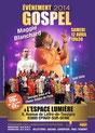 évènement Gospel 2014 avec Maggie Blanchard et le Choeur Gospel de Paris à l'Espace Lumière
