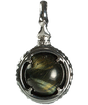 深藍 -FUKAAI-   Hawks Eye Power stone Pendant Necklace