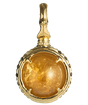 黄金 -KOGANE-   Citrine Power stone Pendant Necklace