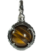 伽羅 -KYARA-   Tiger Eye Power stone Pendant Necklace