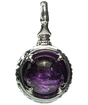 紫 -MURASAKI-   Amethyst Power stone Pendant Necklace