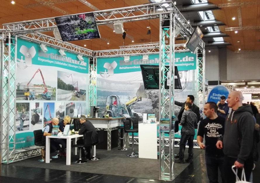 Unser Stand auf der Energy Decentral in Hannover.