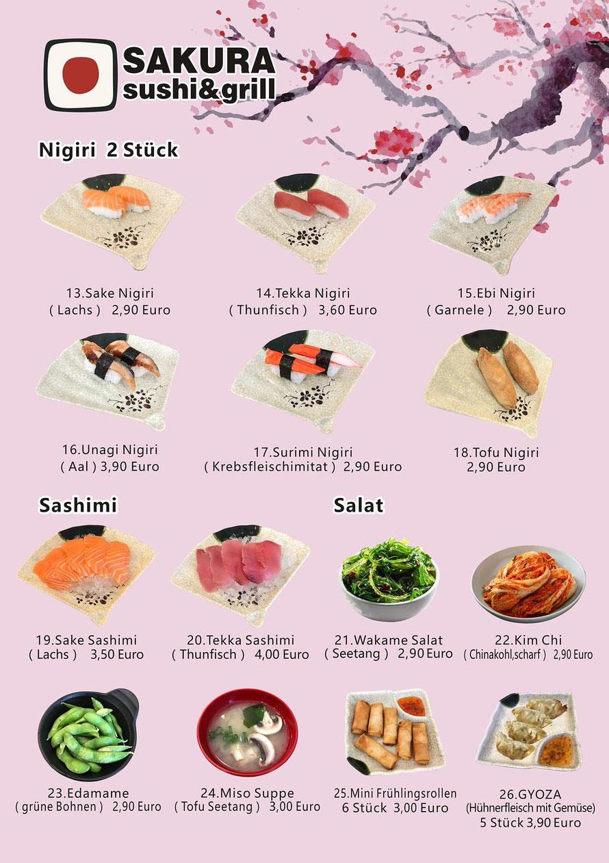 Sushi Restaurant Lörrach mit Take-Away