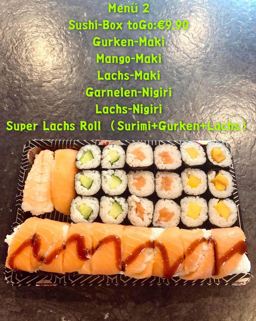 #2 Sushi Box to Go für € 9,90