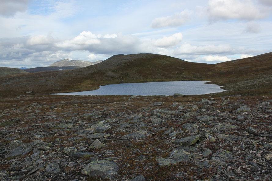 An diesem See hatte ich vor ca. 20 Jahren schon einmal gezeltet
