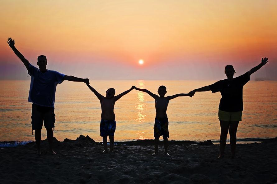 Des petits moments de bonheur en famille à communiquer