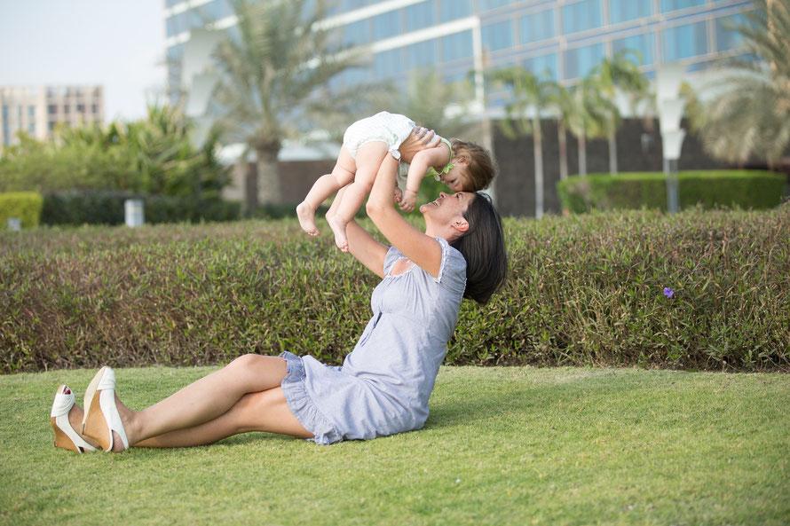 Le bonheur pour votre enfant, c'est que vous soyez optimiste