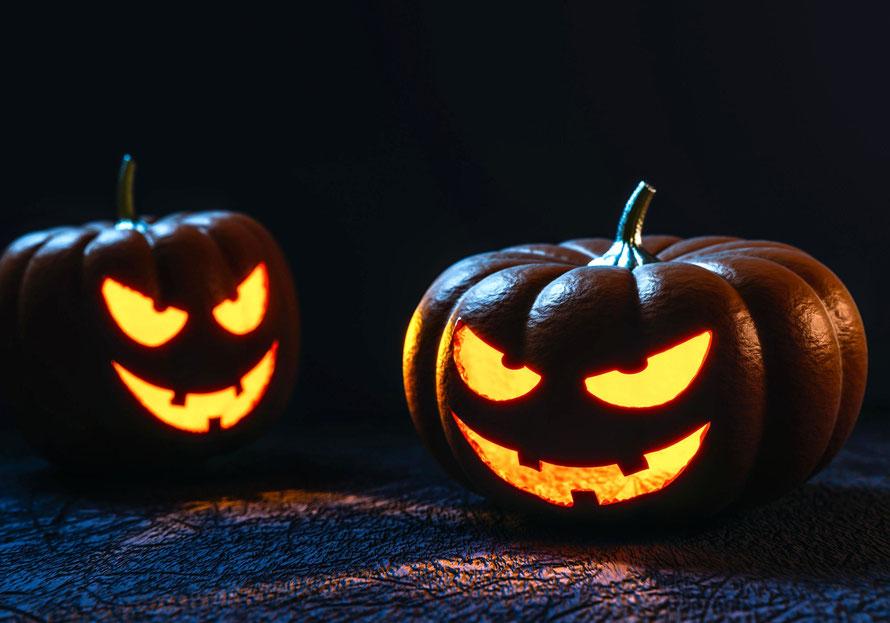 La tradition des lanternes pour la fête d'Halloween