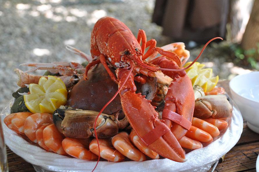 Les fruits de mer sont des aliments nutritifs parfait pour l'automne.