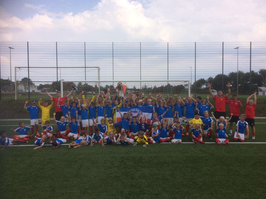 GSC Junioren - Holstein Kiel Fußball Schule 2018