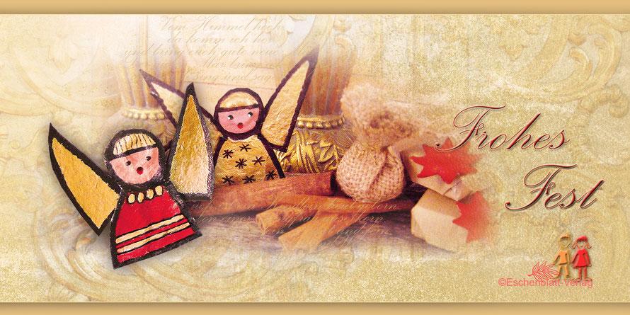 Engel aus der Kleine Nikolaus und die drei kleinen Engel©Eschenblatt-Verlag