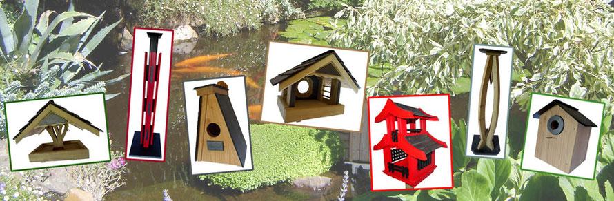 mangeoires et nichoirs oiseaux la cabane au piaf mangeoires et nichoirs pour oiseaux. Black Bedroom Furniture Sets. Home Design Ideas