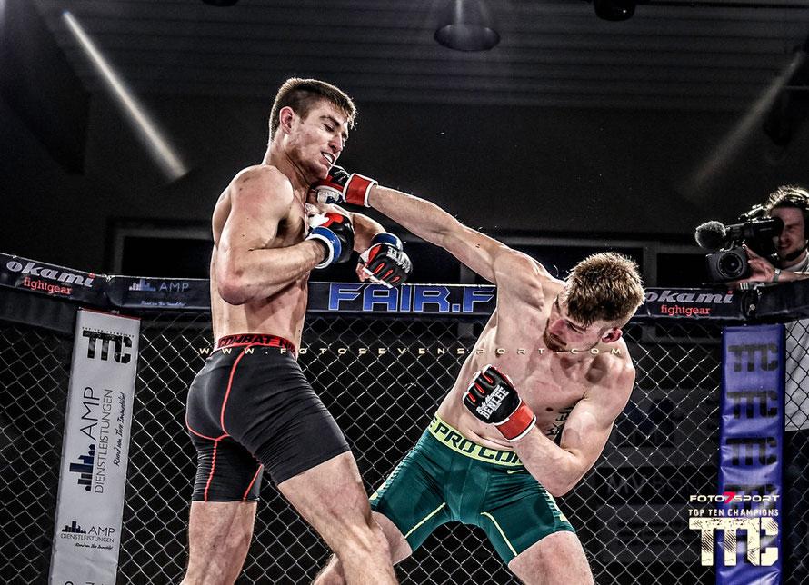 Alexander Vogt (Team Ardalan Hamburg) vs. Arne Boekee (Team Thriving)