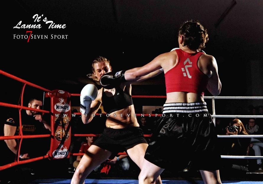 Antje Meschner VS Svenja Bröding Fightpalast Iserlohn Lanna Martial Arts