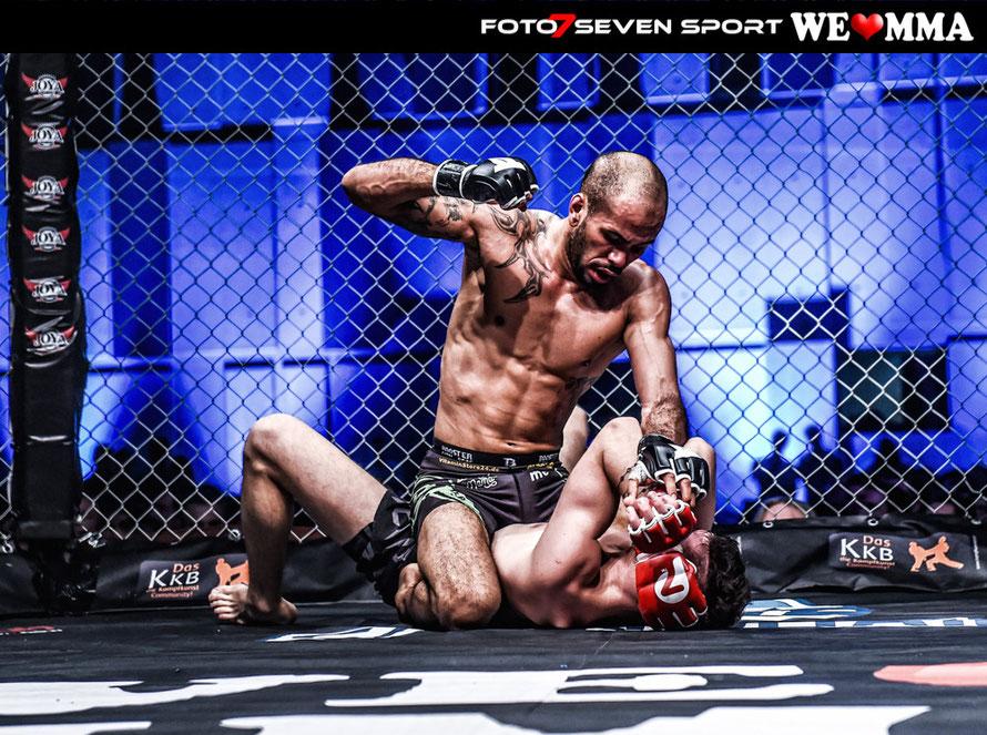 Michael Deiga-Scheck (Pound for Pound Munich Germany) vs. Vasil Ntina durch American (Shuri Gym)