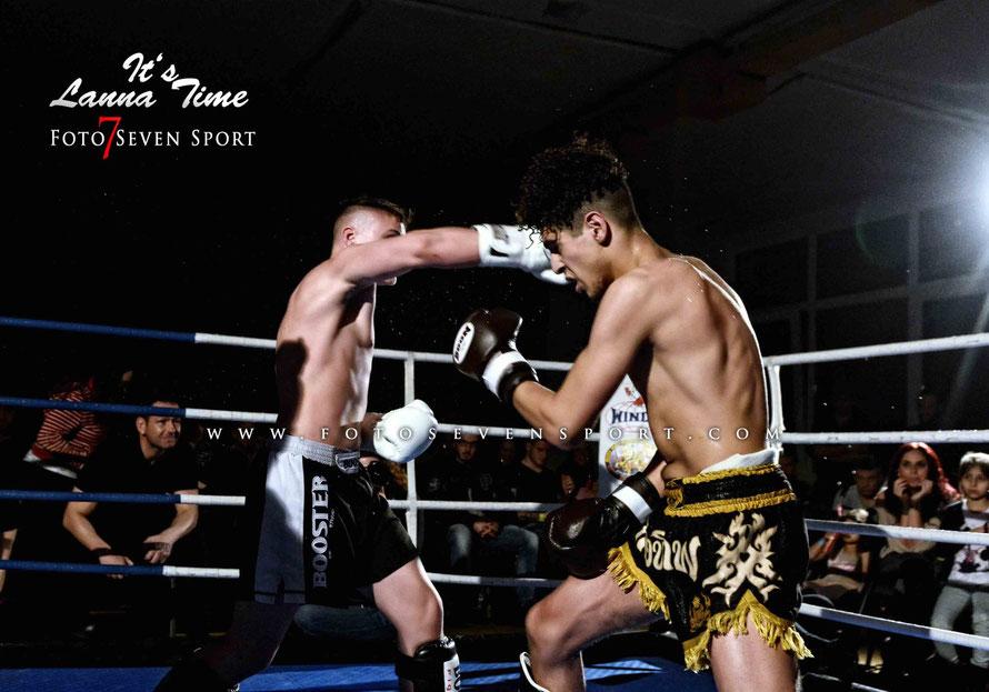 Yassin Elmrabet VS Patrick Wosik Allfit Gym Amrani Palace