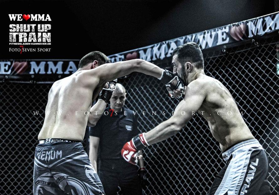 Mahmoud Farour Team Ardalan vs Hamid Gelitsch Combat Club Cologne