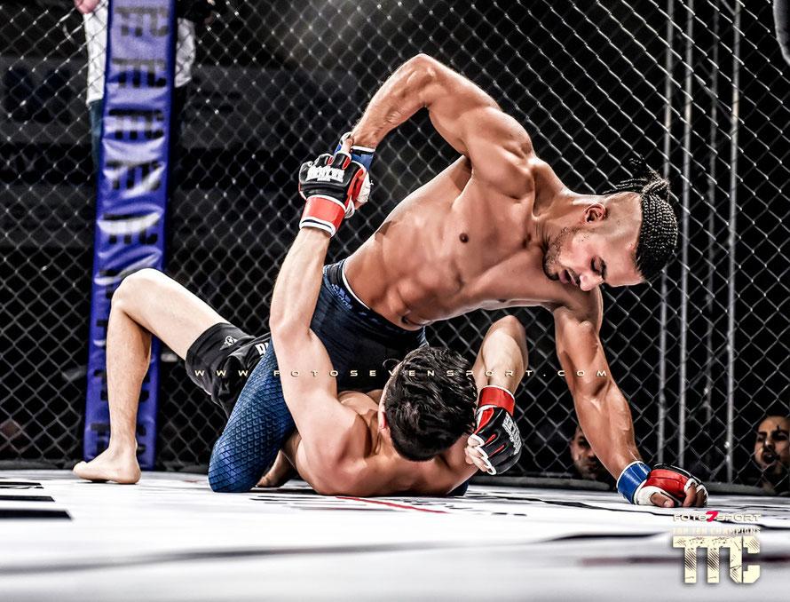 Nijat Valuev (Team Baku) vs. Khalid Taha (Combat Club Cologne)