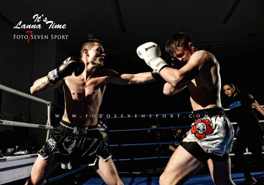 Niko Sekiraqa (Sparta X Gym) VS Marius Schmitt (Lanna Martial Arts)