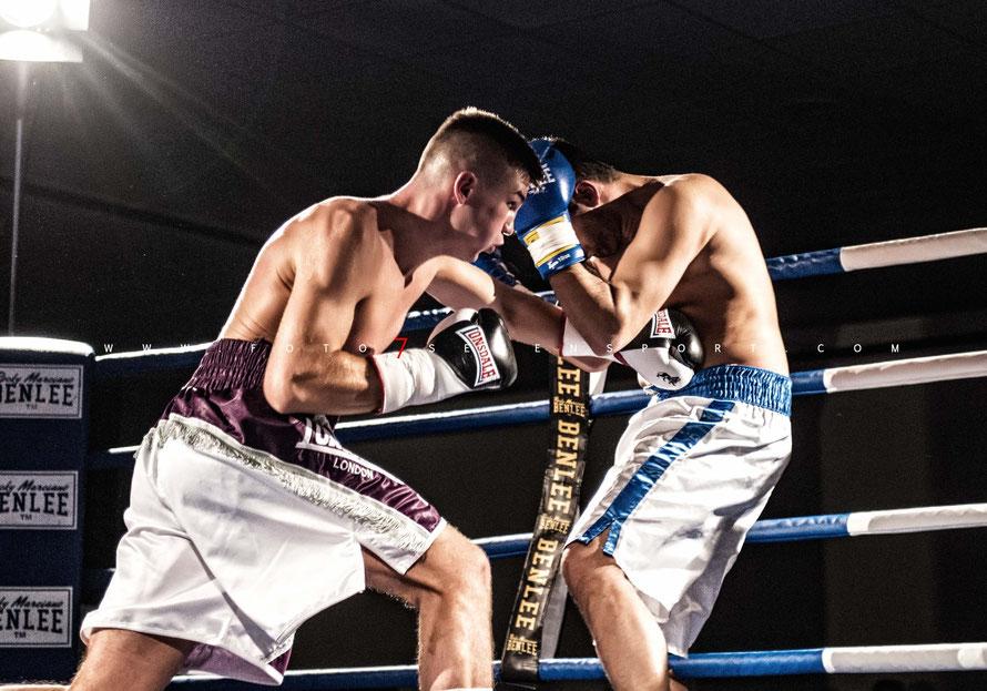 Marwan Chehade (Team DAG) vs. Rene Oeffner (MyLife Boxen)
