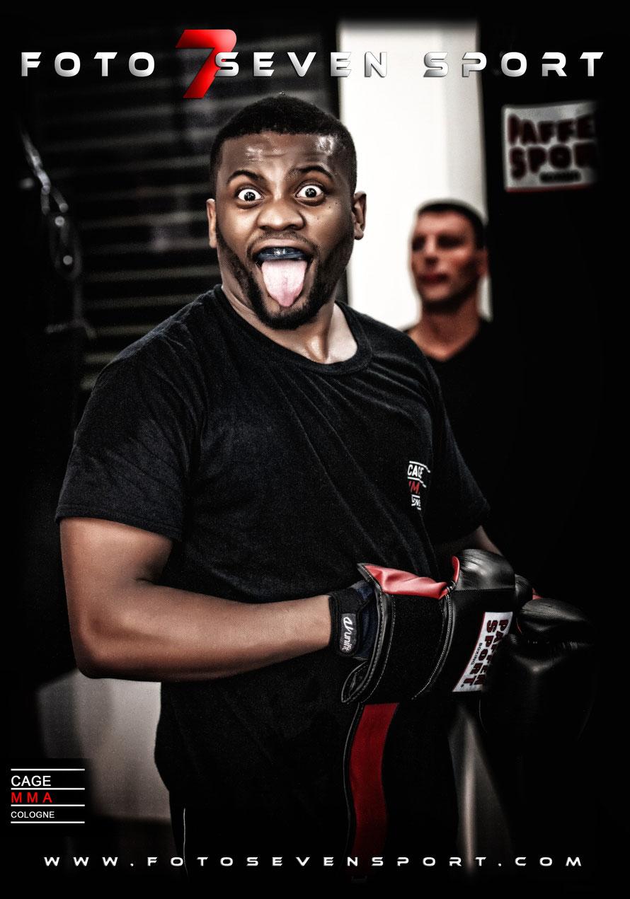 Foto Seven Sport zu Gast bei CAGE MMA COLOGNE