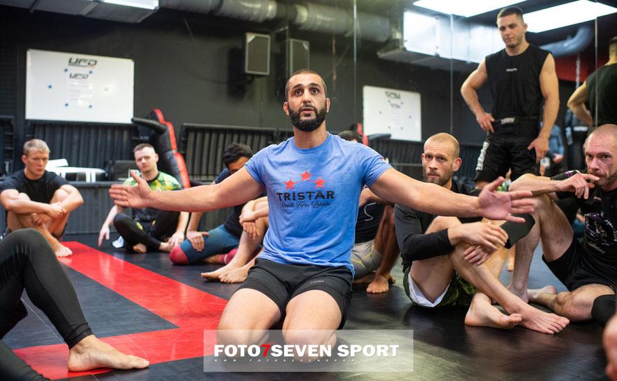 Seminar mit Firas Zahabi UFD Gym - Tristar