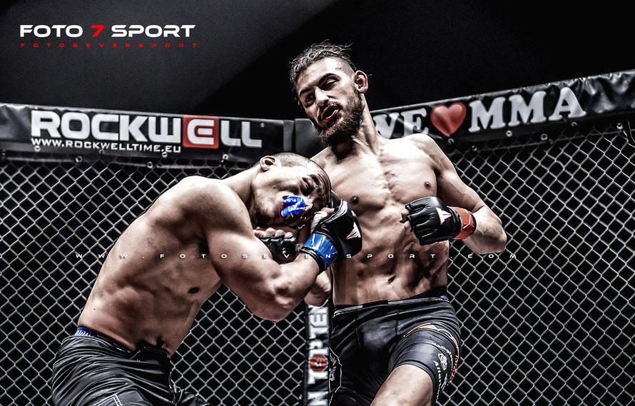 Amanuel Ukuwait (Combat Club Cologne) vs. Michail Chrisopoulos (KSS Allerborn)