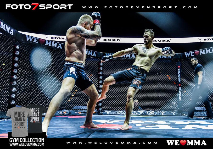 Sebastian Reimnitz ( RL Fighthouse Hamburg ) vs. Mario Wittmann (MMA Mundial Ingolstadt)