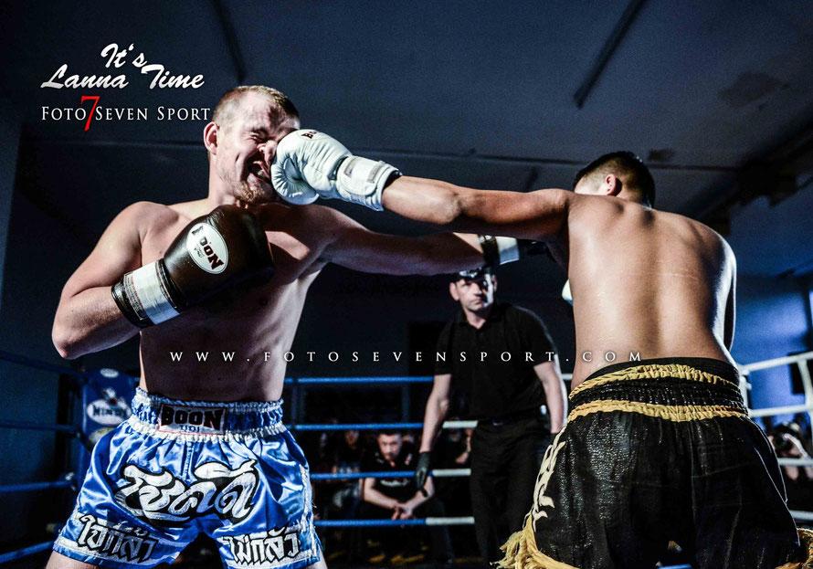 Foto Seven Sport - Hafiz Asikali VS Benny Middelmann Allfit Gym Lanna Martial Arts