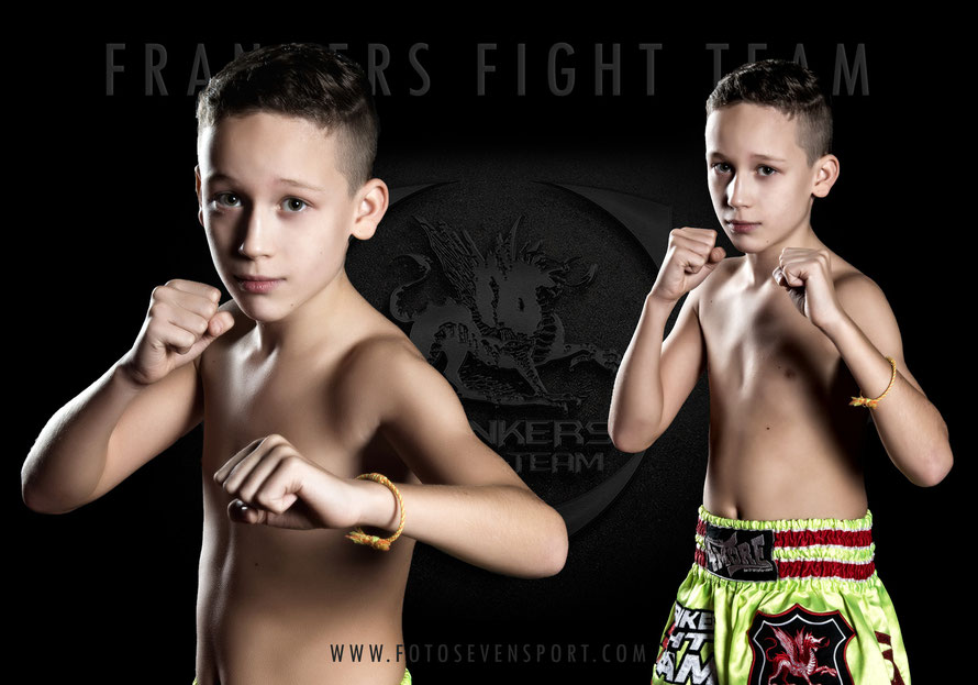 Foto Seven Sport - Fotoshooting mit Frankers Fight Team -