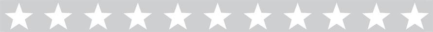 selbstklebende umweltfreundliche Vliesbordüre mit großen Sternen - hellgrau - Sale - B-Ware