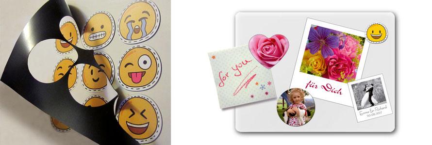 Fotomagnete & Magnetbilder, personalisierbar mit deinen eigenen Fotos, zum verschenken oder selberbehalten