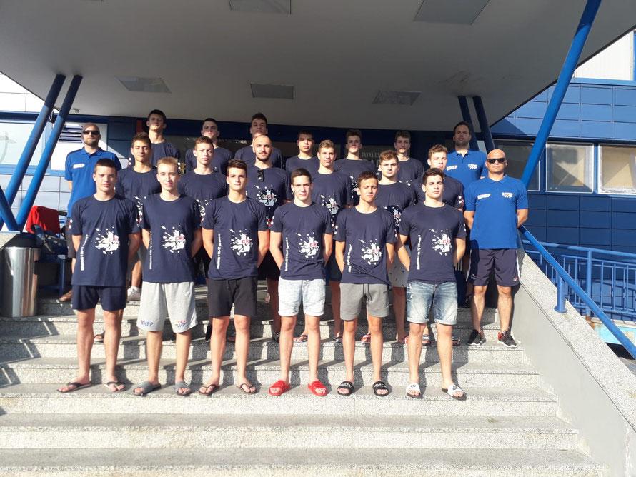 Die kroatische Jugendnationalmannschaft.