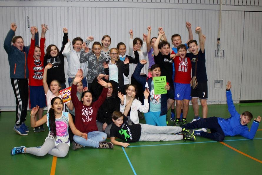 Die stolzen Sieger - Klasse 6a