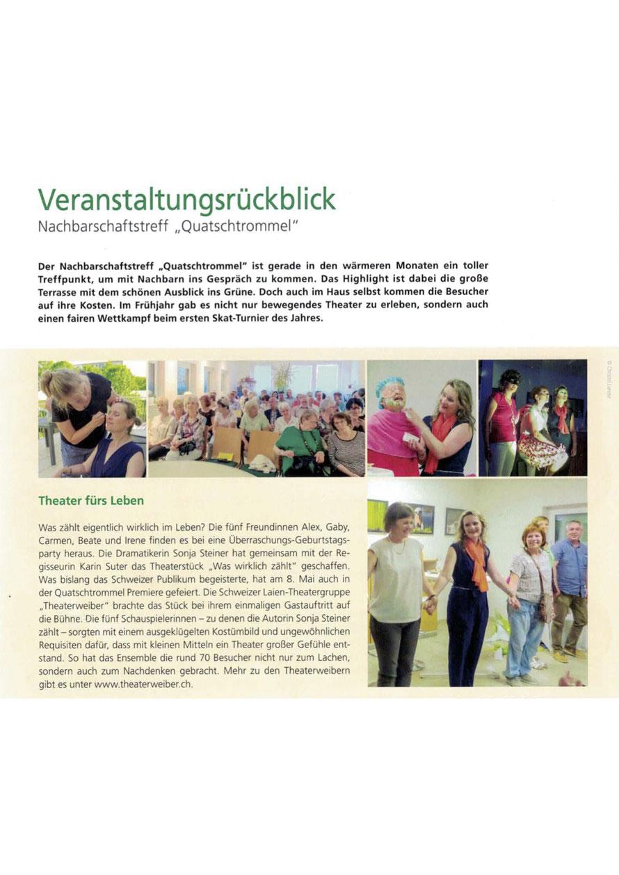 WGLi Umschau Mitglieder- und Mieterzeitschrift Nr 2 / Juni 2018
