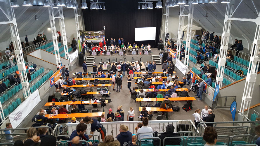 Rendsburg. Die Nordmarkhalle in Rendsburg war am 18.Januar erneut der Austragungsort für die Norddeutschen Ergometer-Meisterschaften in Rendsburg.