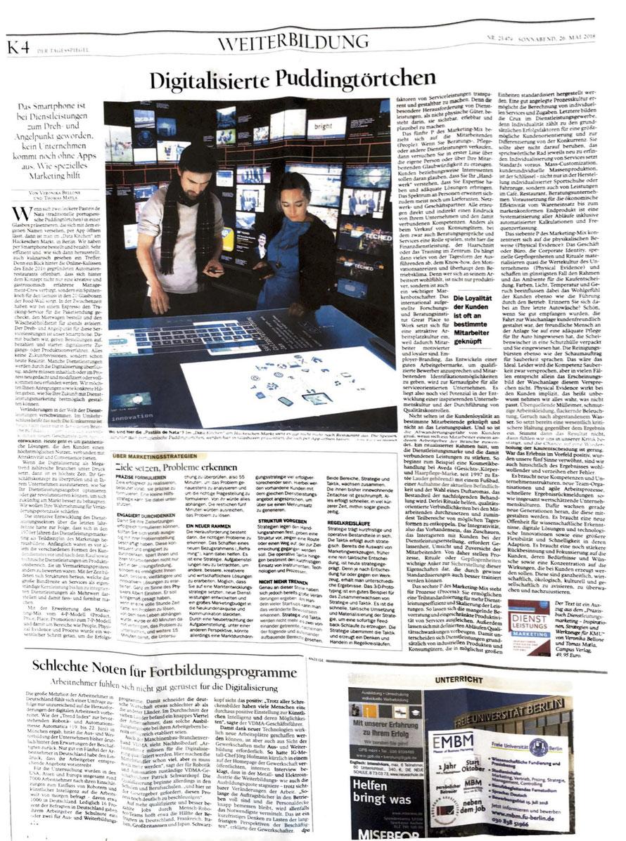 Der Tagesspiegel, Berlin vom 26. Mai 2018