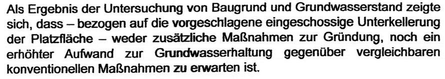 Zitat aus der Umbauplanung  – St. Hedwig Berlin Entwurfsplanung Stand 08/2015 von Sichau & Walter mit Zogmayer (Seite 7)