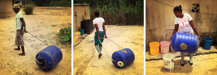 Jafuta Foundation - Community - Water access improvement - Hippo rollers - Zimbabwe