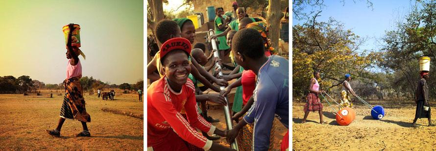 Jafuta Foundation - Community - Water access improvement - Zimbabwe