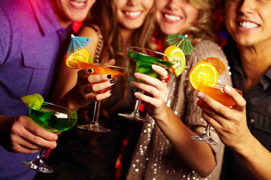 Geburtstagsfeier, Firmenfeier, Weihnachtsfeier und verschiedene Events