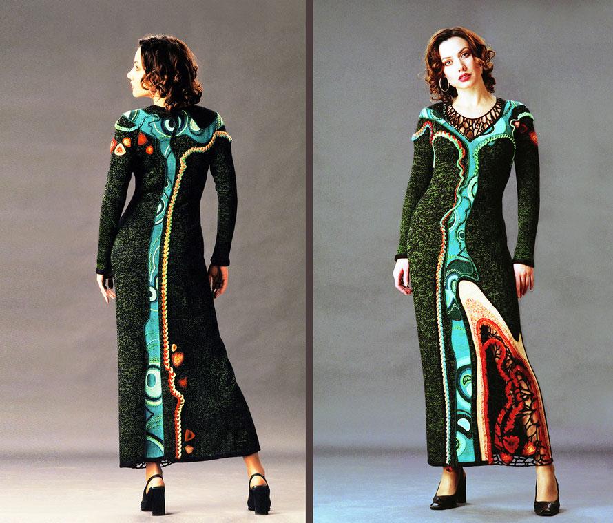 "Alexander Seraphim's knitwear, ""Malachite"", 1999"