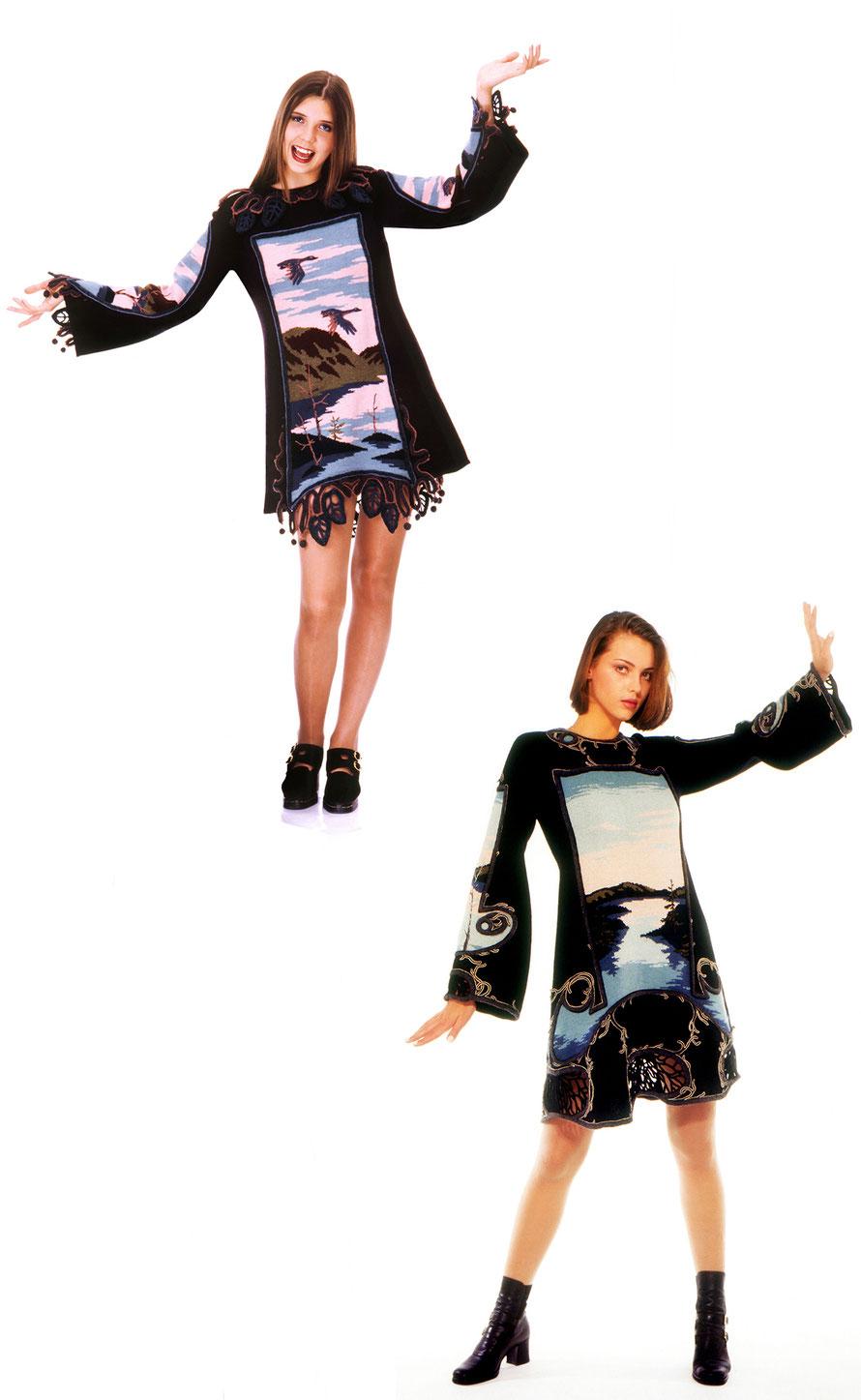 Alexander Seraphim's knitwear, 1995-1996