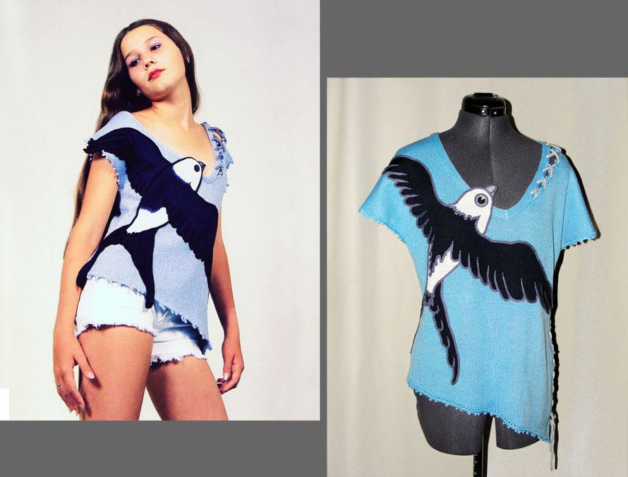 "Alexander Seraphim's knitwear, ""Beloved Swift"", 2003; 2015"