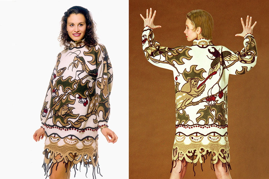 Alexander Seraphim's knitwear, 1994